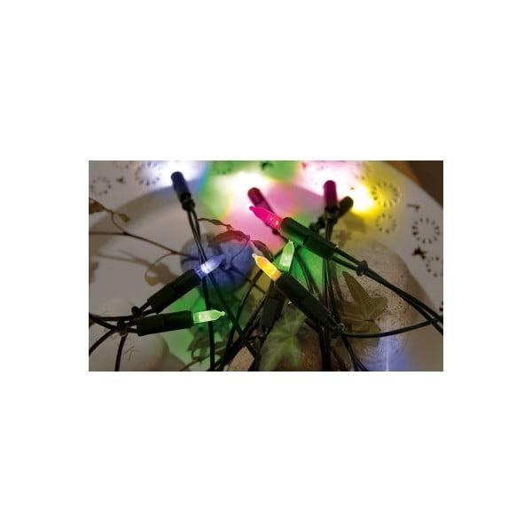 Svítící řetěz Best Season Lightchain Multi Green, 35 světýlek