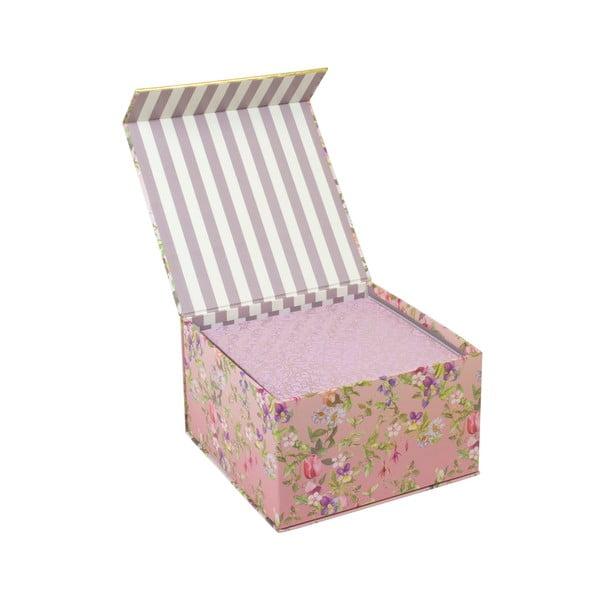 Sada 3 úložných boxů s magnetickým zavíráním Tri-CoastalDesign Charming Garden