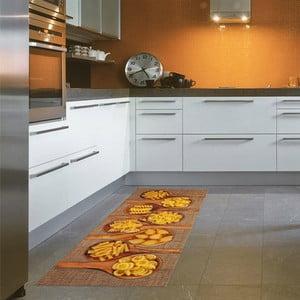 Vysoce odolný kuchyňský koberec Webtappeti Pasta, 60x110 cm