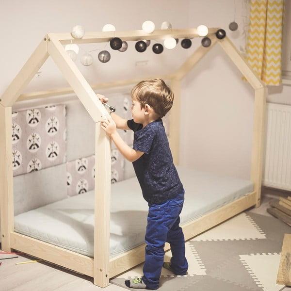 Dětská postel z borovicového dřeva Benlemi Tery,60x120cm