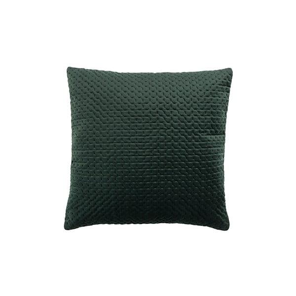 Pernă White Label Sterre, 45 x 45 cm, verde închis