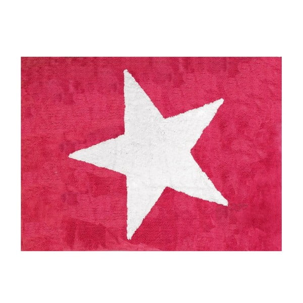 Koberec Estela 160x120 cm, sytě růžový