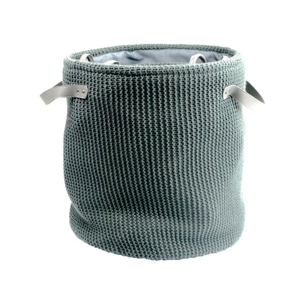Set 6 coșuri tricotate de depozitare Furniteam Clean, ⌀ 42 cm, kaki