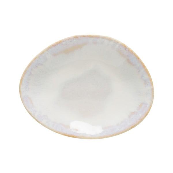 Farfurie pentru supă din gresie ceramică Costa Nova Brisa, alb