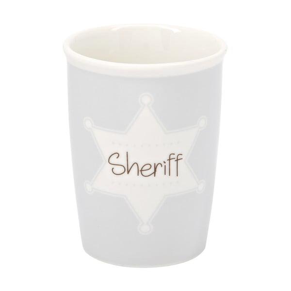 Menší cestovní hrnek Sheriff