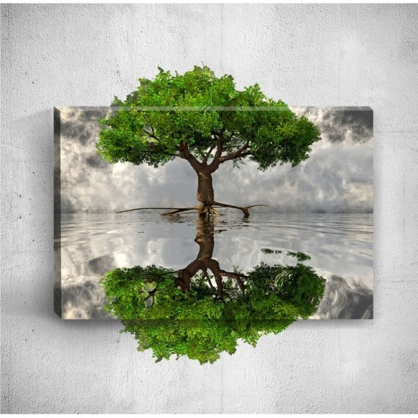 Tablou de perete 3D Mosticx Big Tree, 40 x 60 cm