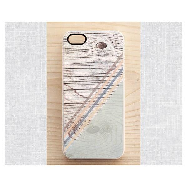Obal na Samsung Galaxy S3, Pastel Rustic Geometric wook/white