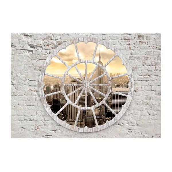 Velkoformátová tapeta Artgeist Gateway New York: A View through the Window, 300x210cm