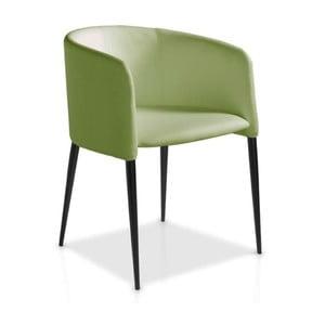 Zelená jídelní židle Ángel Cerdá Juana
