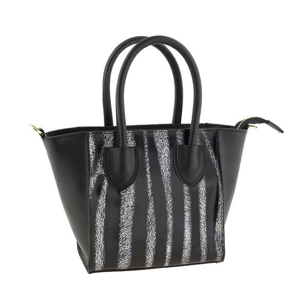 Kožená kabelka Kossie Zebra