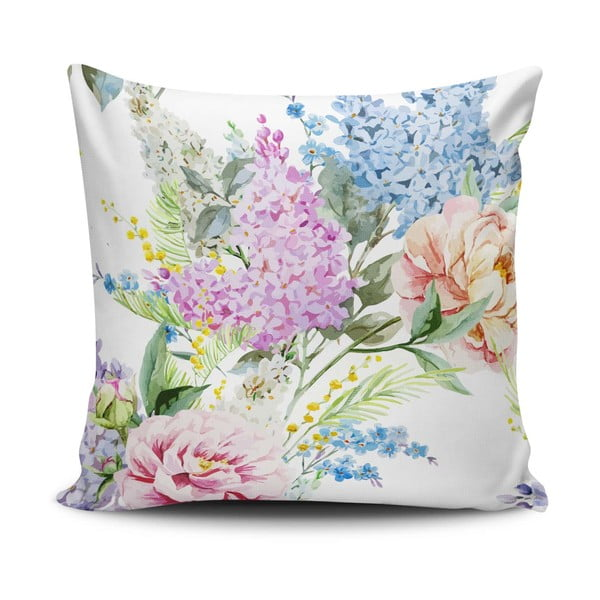 Obliečka na vankúš s prímesou bavlny Cushion Love Hurto, 45 × 45 cm