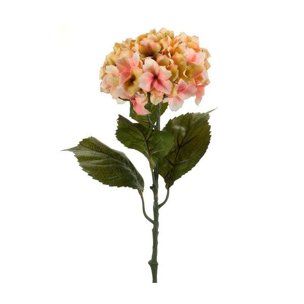 Umělá broskvová hortenzie, 50 cm
