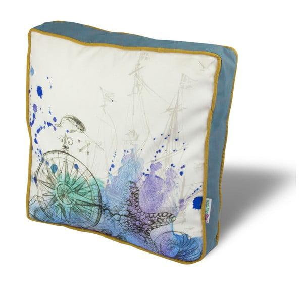 Pernă pentru scaun Gravel French Romance, 42x42cm,cuumplutură