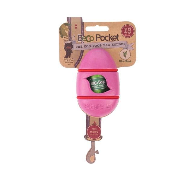 Kapsa na venčící sáčky Beco Pocket, růžová
