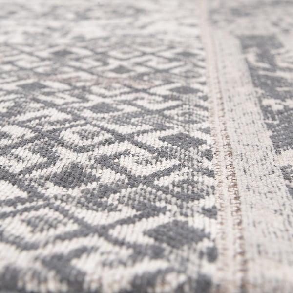 Koberec Chenille, 160x210 cm, šedo-béžový
