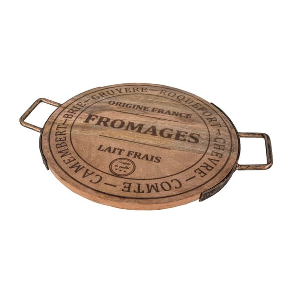 Deska do serwowania serów Antic Line Fromage, ⌀ 36 cm