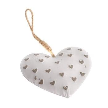 Decorațiune suspendată din metal în formă de inimă Dakls Easter Heart de la Dakls