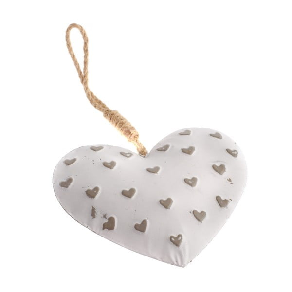 Dekorativní kovové závěsné srdce Dakls Easter Heart