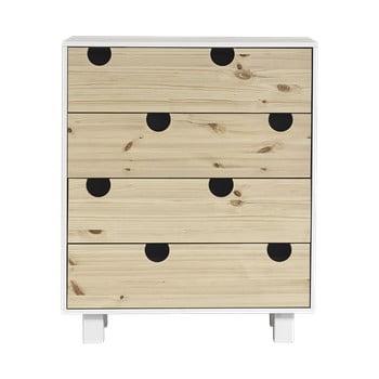 Comodă cu patru sertare Karup Design House imagine