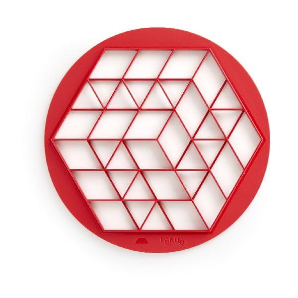 Červené vykrajovátko na mini dezerty Lékué Pies, ⌀ 30 cm