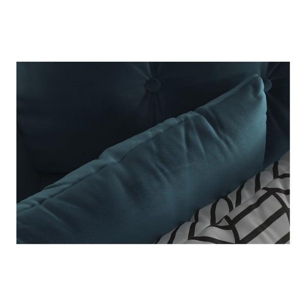 Tmavě modrá třímístná rozkládací pohovka Daniel Hechter Home Memphis Navy Blue