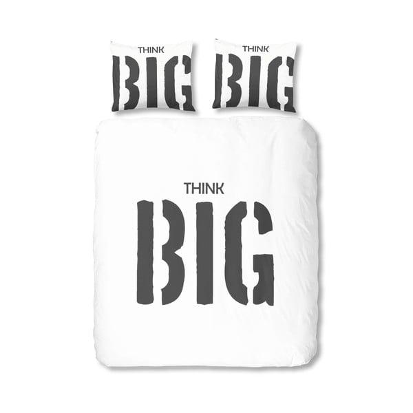 Bílé bavlněné povlečení Muller Textiels Big, 200x200cm