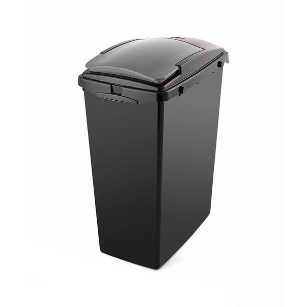Recyklační odpadkový koš s víkem Addis, 48 x 28 x 56 xm