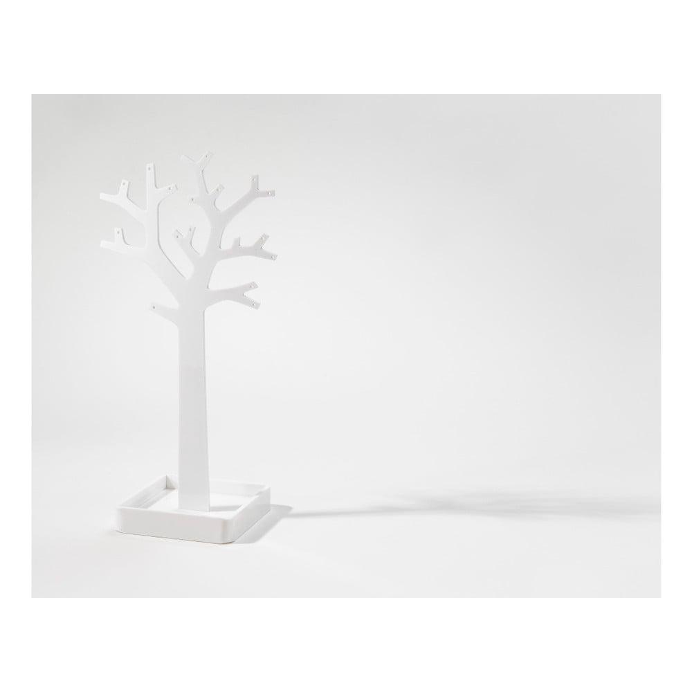 Bílý kosmetický organizér ve tvaru stromu Compactor