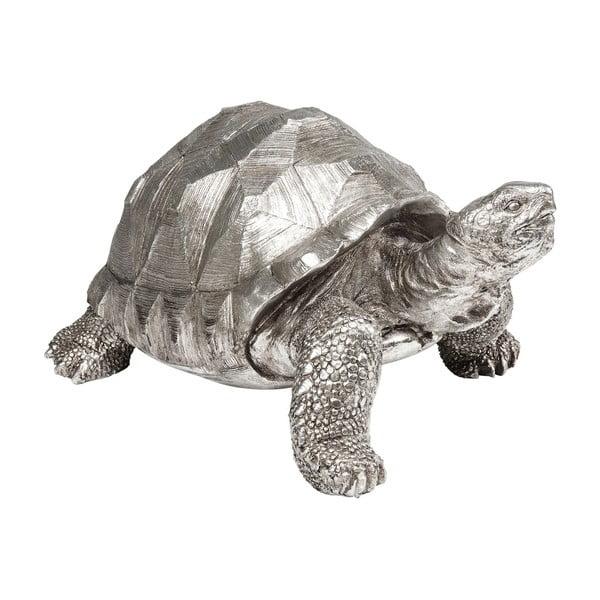 Statuetă decorativă în formă de țestoasă Kare Design Turtle, argintiu
