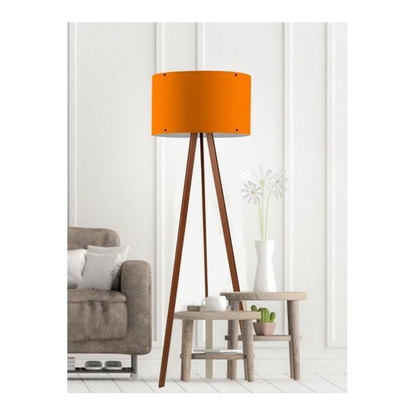 Woddy narancssárga állólámpa