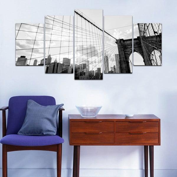 Vícedílný obraz Black&White no. 85, 100x50 cm
