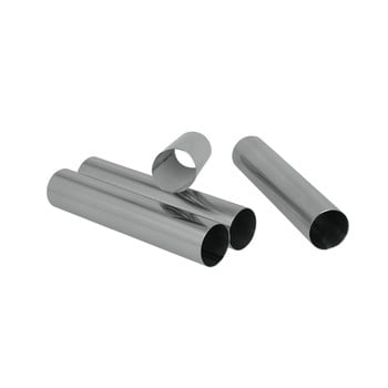 Set 4 suporturi metalice pentru rulouri Metaltex, lungime 12,5 cm de la Metaltex
