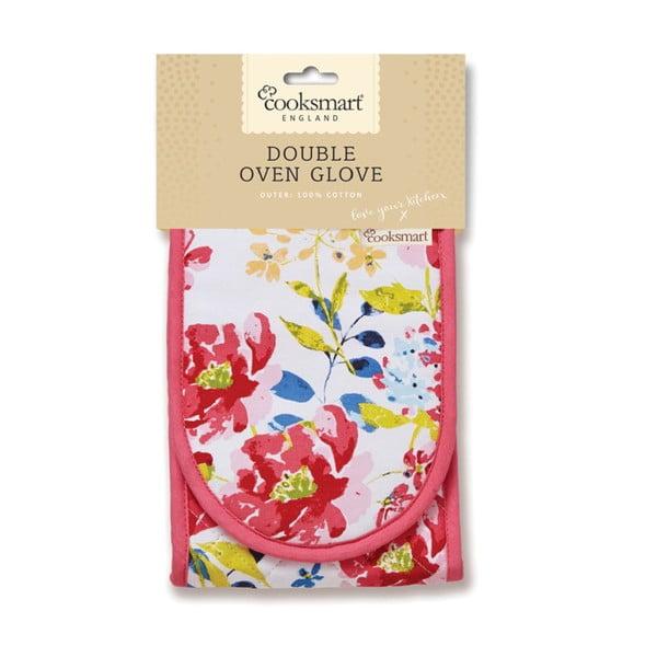 Dvojitá chňapka Cooksmart England Floral Romance