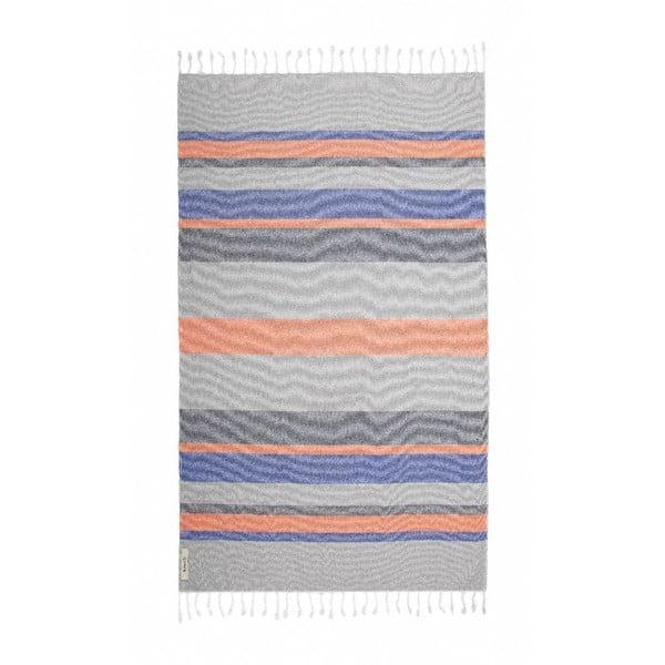 Ręcznik hammam Breeze Colorful II, 95x150 cm