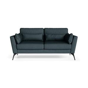 Canapea cu 2 locuri Marie Claire SUSAN, albastru