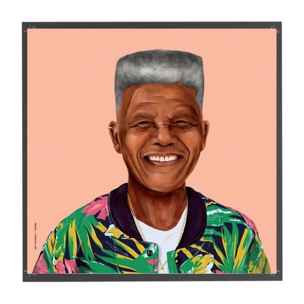 Obraz Fisura Nelson Mandela, 50x50 cm