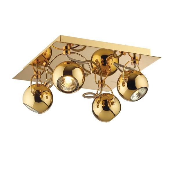 Nástěnné/stropní světlo Crido Four Point Gold