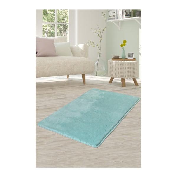 Světle tyrkysový koberec Milano, 140x80cm