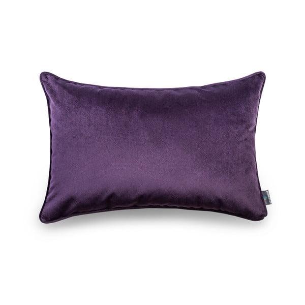 Tmavofialová obliečka na vankúš WeLoveBeds, 40×60 cm