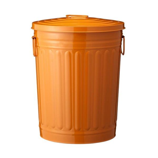 Kovový oranžový koš