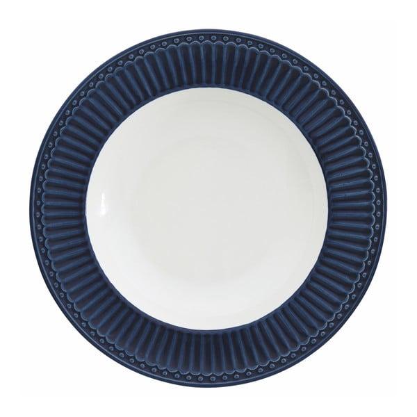 Farfurie Green Gate Alice, ⌀ 21,5 cm, albastru închis