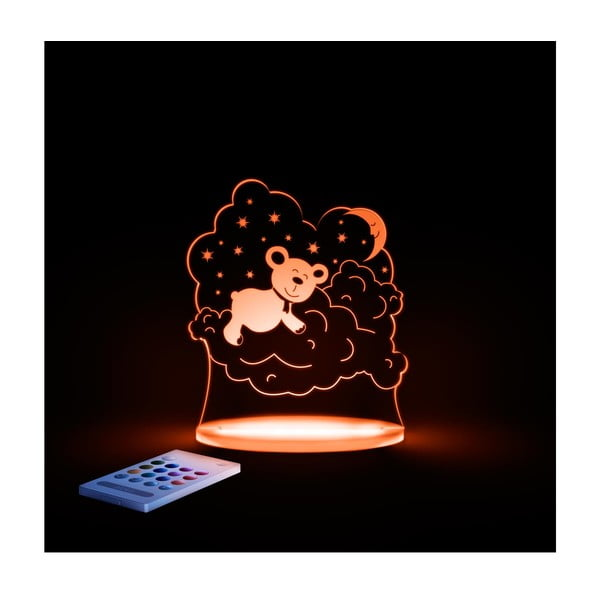 Dětské LED noční světýlko Aloka Bear