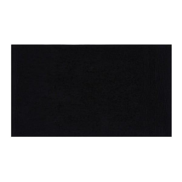 Sada šesti černých ručníků Beverly Hills Polo Club, 50x30cm