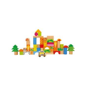 Set cuburi pentru copii Legler Zoo, 17 buc. de la Legler