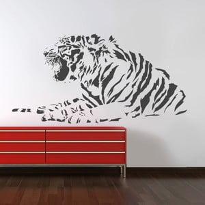 Samolepka na stěnu Tygří, 90x120 cm