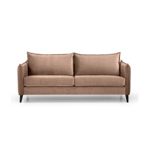 Canapea cu 3 locuri Scandic Leo, bej