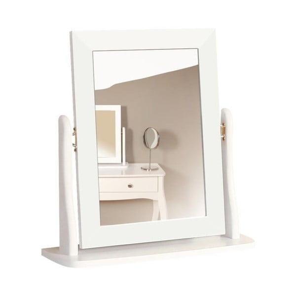 Oglindă machiaj pentru masa de toaletă Steens Baroque, alb