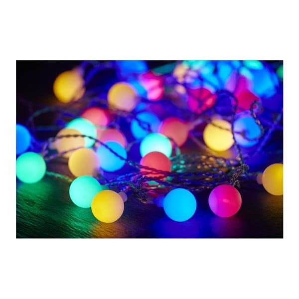 Světelný řetěz Best Season Partylights Berry Multi, 50 světýlek