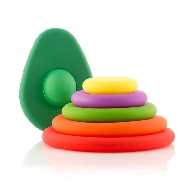 6-dielna sada silikónových čiapočiek na ovocie InnovaGoods