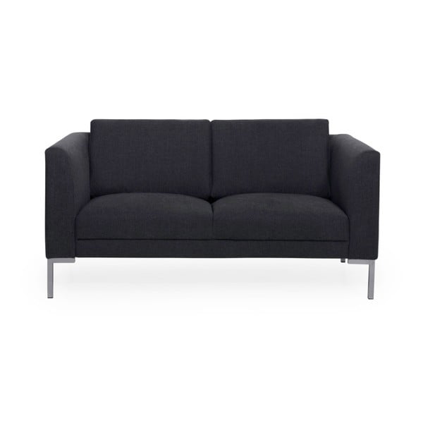 Antracytowa sofa 2-osobowa Softnord Kery
